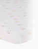 Picture of Bunny-Print Crib Sheet